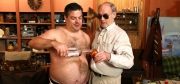 Randy and Mr. Lahey